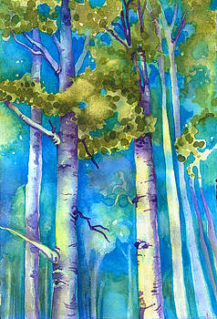 Aspen Afternoon by Gail M Austin
