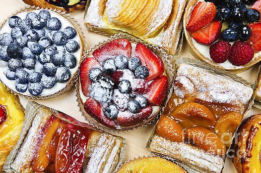 Elena Elisseeva - Assorted tarts and pastries