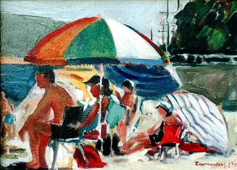 At the beach by George Siaba