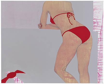 At the Beach III by Judith Sturm