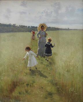 Ilya Repin - At the Boundary