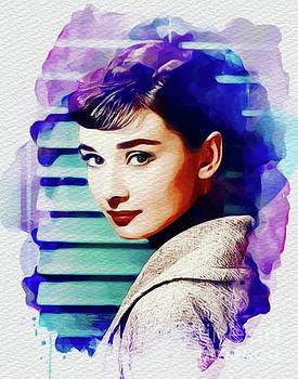 John Springfield - Audrey Hepburn, Vintage Movie Star