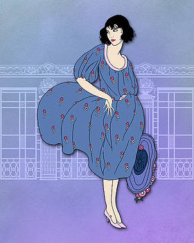 Nancy Lorene - Audrey in Blue and Pink