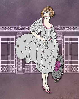 Nancy Lorene - Audrey in Gray and Rose