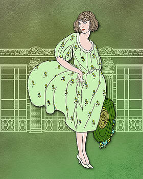 Nancy Lorene - Audrey in Green and Olive