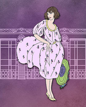 Nancy Lorene - Audrey in Lilac and Lavender