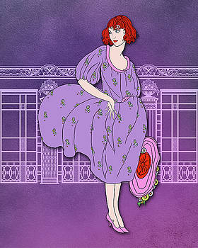 Nancy Lorene - Audrey in Purple and Pink