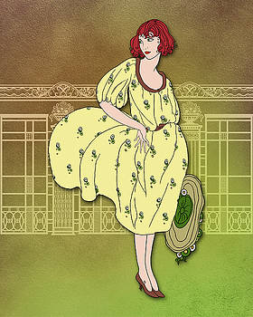 Nancy Lorene - Audrey in Yellow and Olive