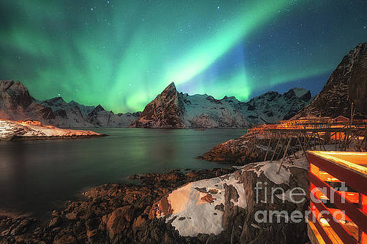 Aurora borealis by Pawel Klarecki