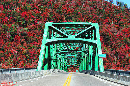 Autumn Bridge by Michael Rucker