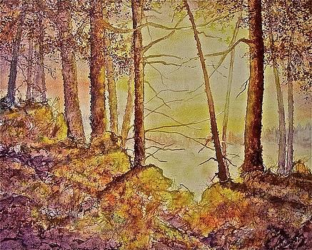 Autumn Glow by Carolyn Rosenberger