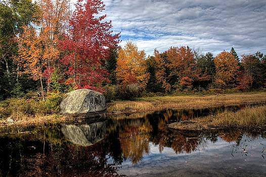 Autumn In Maine by Greg DeBeck