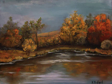 Autumn Pond by Rena Buford
