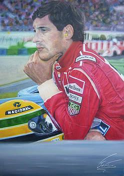 Ayrton Senna da Silva by Fabio Turini