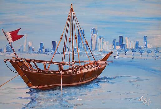 Bahrain Boat by Eric Shelton