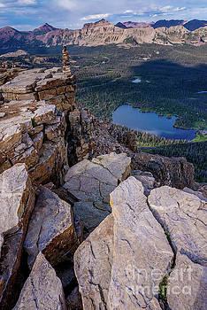 Bald Mountain - Mirror Lake - Uinta Mountains - Utah by Gary Whitton
