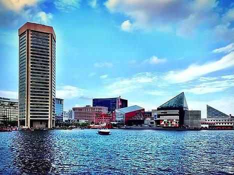 Baltimore's Inner Harbor by Chris Montcalmo