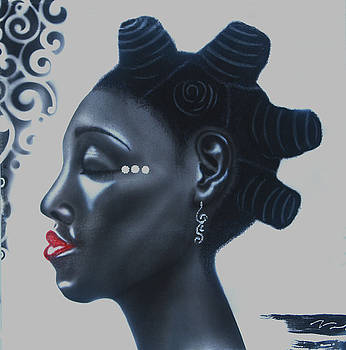 Bantu knots by Fred Odle