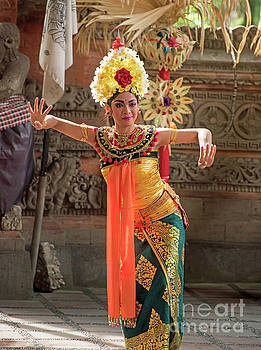 Barong Dancer by Jim Chamberlain