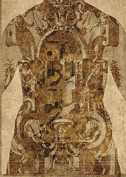 Baroque man by Vladas Orzekauskas