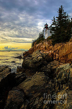 Bass Harbor Lighthouse by Diane Diederich