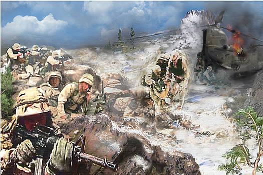 Todd Krasovetz - Battle at Roberts Ridge