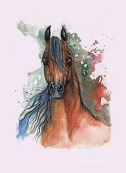 Angel Tarantella - bay arabian horse 2014 01 09