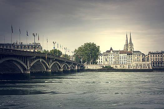 Bayonne cityscape by Mickael PLICHARD
