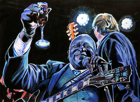BB King by Chris Benice
