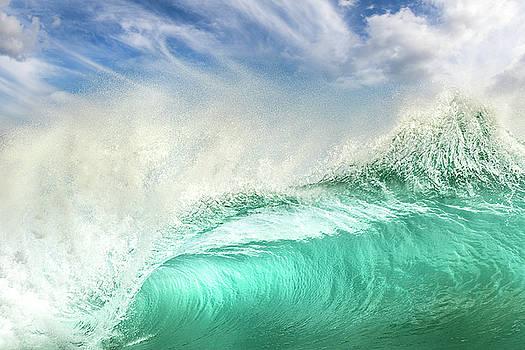 Beach Barrel by James Roemmling