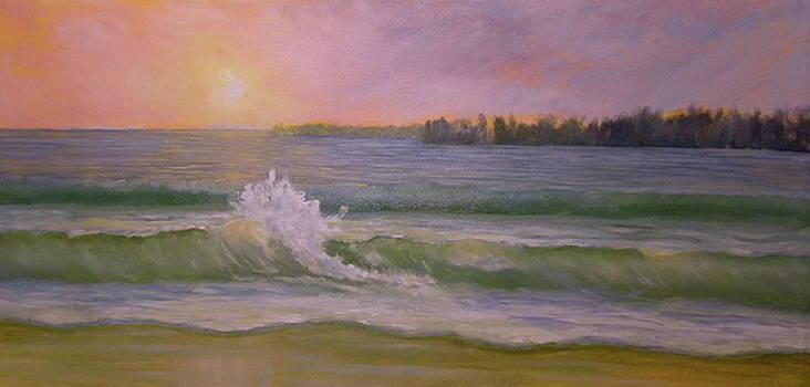 Beach Day by Scott W White