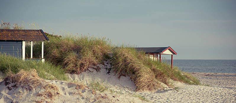 Beach Houses by Michael Maximillian Hermansen