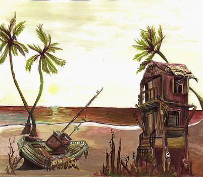 Beach Wreck by Lauren Penha