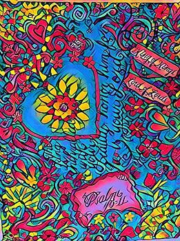 Beauty in Psalms by Patricia Rex