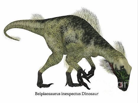 Corey Ford - Beipiaosaurus Dinosaur Side Profile
