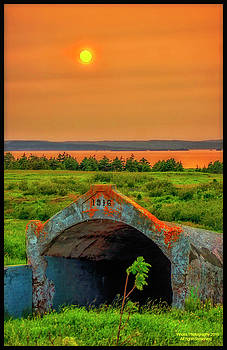 Bell Island Sunset by Vincent Dwyer