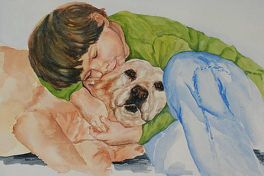 Ben and Buddy by Gayle  George
