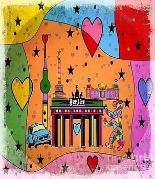 Berlin Popart by Nico Bielow by Nico Bielow