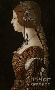 Bianca Maria Sforza by Giovanni Ambrogio de Predis