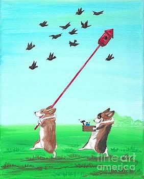 Birds Are Back by Margaryta Yermolayeva
