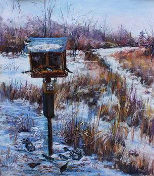 Birds in the Swamp by Joan Wulff