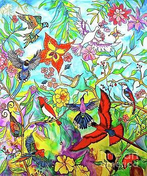 Birds Of Praise by Nancy Cupp