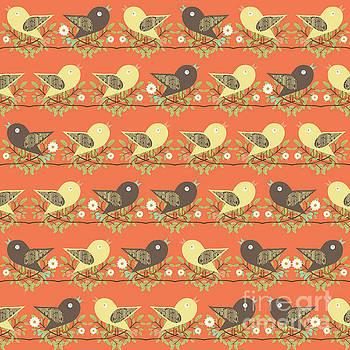 Birds pattern by Gaspar Avila
