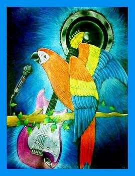 Birds Singer by Tamer Elsamahy