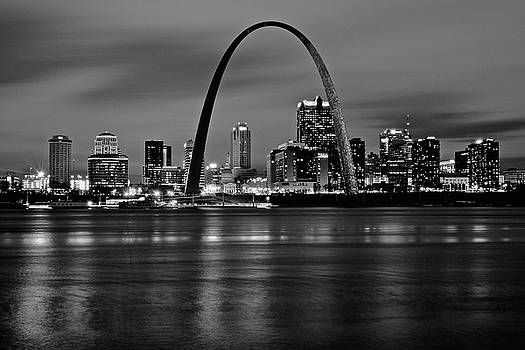 Frozen in Time Fine Art Photography - Black Night in St Louis