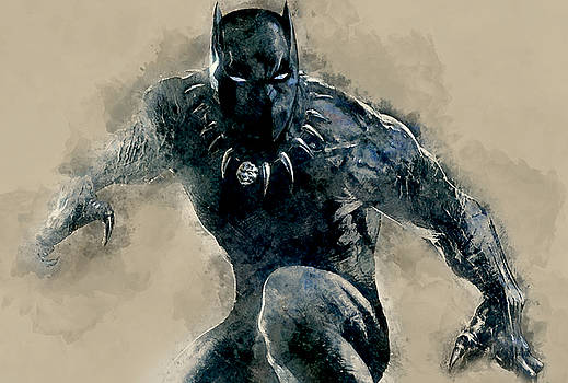 Black Panther by Marvin Blaine