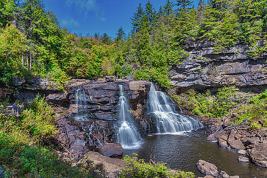 Blackwater Falls by Guy Whiteley