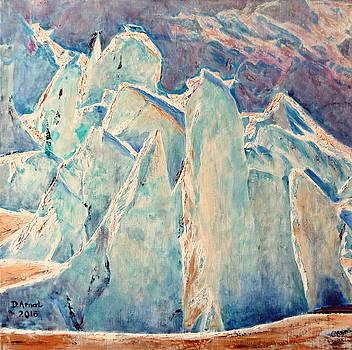 Bleu Glacier by Danielle Arnal