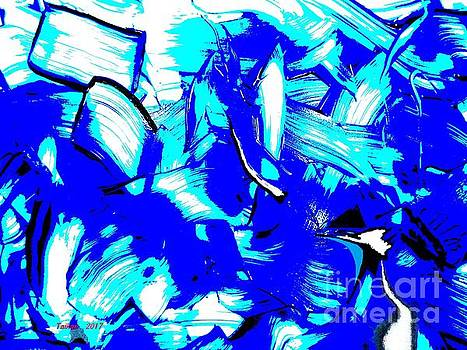 Abstract TN 007 By Taikan by Taikan Nishimoto