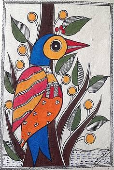 Blue bird by Vidushini Prasad